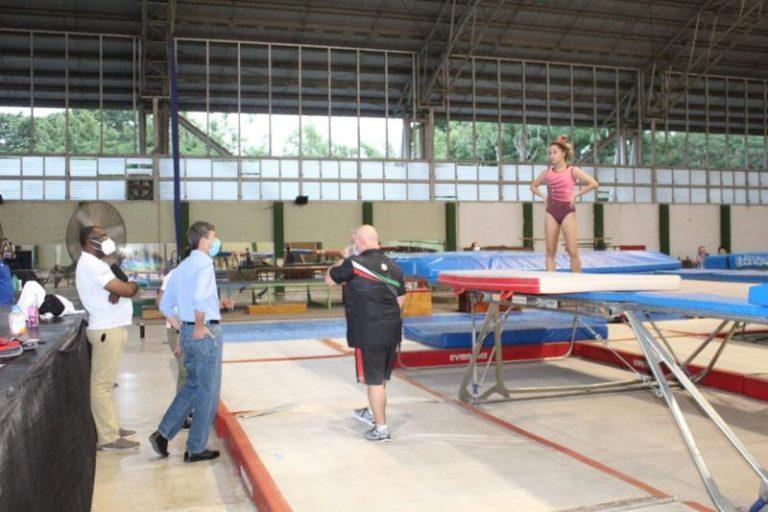 IDEY supervisa el funcionamiento de la burbuja de entrenamiento en el Kukulcán