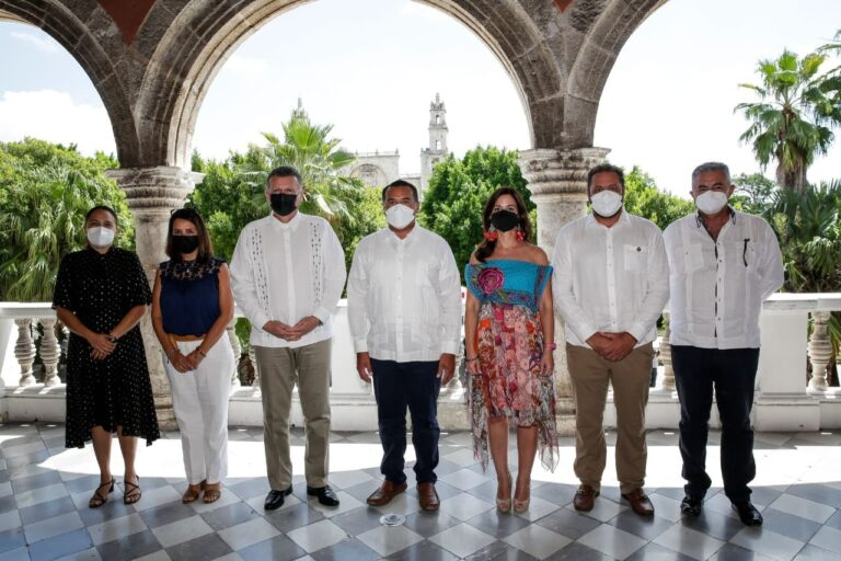 Suiza y Mérida Estrecharán lazos  con proyectos que promuevan el atractivo turístico